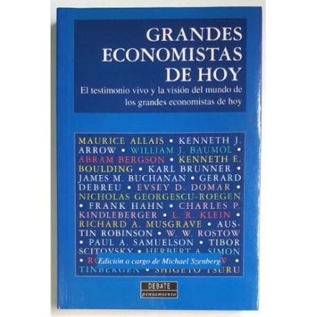 GRANDES ECONOMISTAS DE HOY