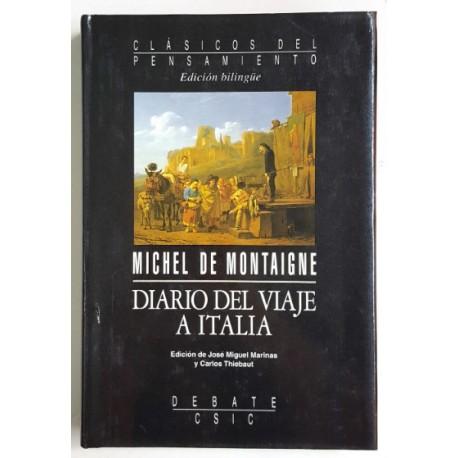 DIARIO DEL VIAJE A ITALIA (ED. BILINGÜE)