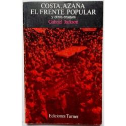 COSTA, AZAÑA. EL FRENTE POPULAR