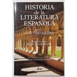 HISTORIA DE LA LITERATURA ESPAÑOLA 6 TOMOS