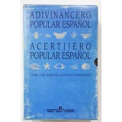 ADIVINANCERO POPULAR ESPAÑOL Y ACERTIJERO POPULAR ESPAÑOL