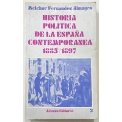 HISTORIA POLÍTICA DE LA ESPAÑA CONTEMPORANEA (1868 - 1902) 3 VOLS.