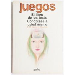 EL LIBRO DE LOS TESTS. CONOZCASE A USTED MISMO