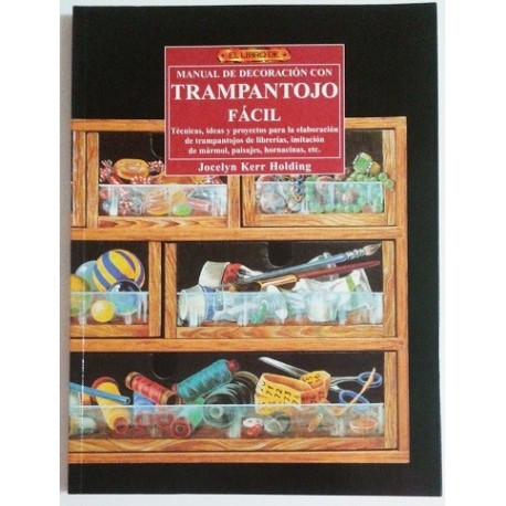 EL LIBRO DE MANUAL DE DECORACIÓN CON TRAMPANTOJO FACIL