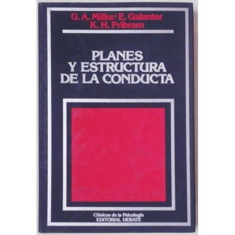 PLANES Y ESTRUCTURA DE LA CONDUCTA