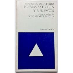 POEMAS SATÍRICOS Y BURLESCOS