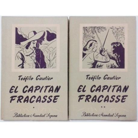 EL CAPITÁN FRACASSE 2 TOMOS