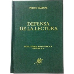 DEFENSA DE LA LECTURA
