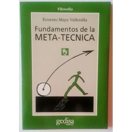 FUNDAMENTOS DE LA META-TÉCNICA