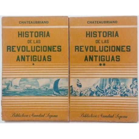 HISTORIA DE LAS REVOLUCIONES ANTIGUAS 2 TOMOS