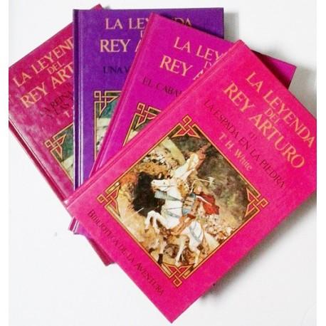 LA LEYENDA DEL REY ARTURO. 4 TOMOS