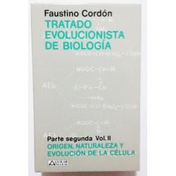 TRATADO EVOLUCIONISTA DE BIOLOGÍA. PARTE SEGUNDA. VOLÚMENES I Y II.