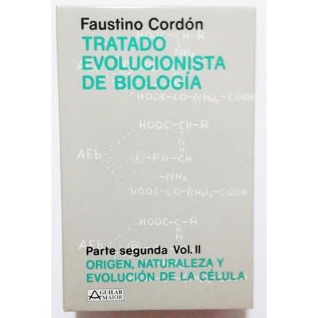 TRATADO EVOLUCIONISTA DE BIOLOGÍA. PARTE SEGUNDA. 2 VOLS.