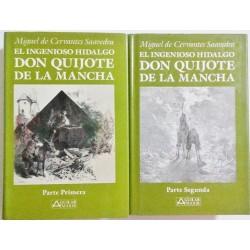 EL INGENIOSO HIDALGO DON QUIJOTE DE LA MANCHA (2 VOL)