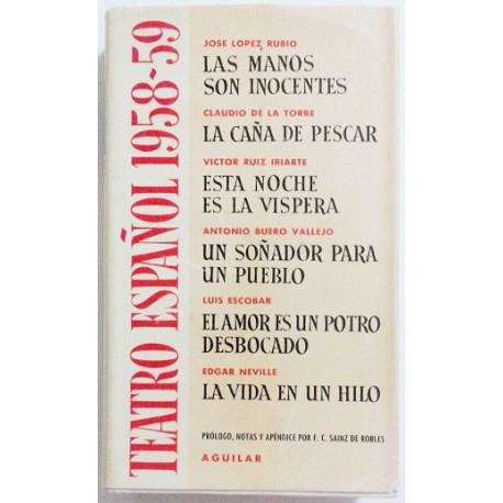 TEATRO ESPAÑOL 1958-1959