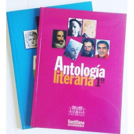 ANTOLOGÍA LITERARIA. 2 TOMOS
