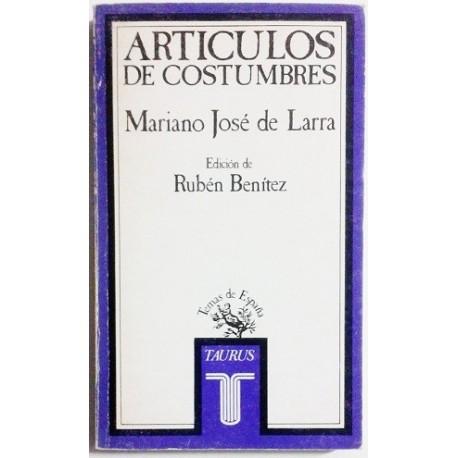 ARTICULOS DE COSTUMBRES