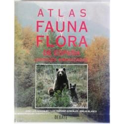 ATLAS DE FAUNA Y FLORA DE ESPAÑA. ESPECIES AMENAZADAS