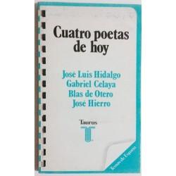 CUATRO POETAS DE HOY