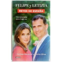 FELIPE Y LETIZIA REYES DE ESPAÑA