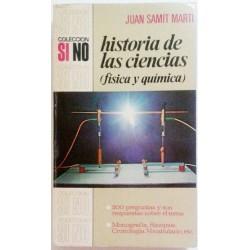 HISTORIA DE LAS CIENCIAS (FÍSICA Y QUÍMICA)