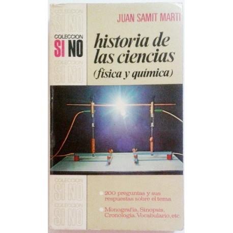 HISTORIA DE LAS CIENCIAS (FISICA Y QUIMICA)