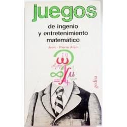 JUEGOS DE INGENIO Y ENTRETENIMIENTO MATEMATICOS