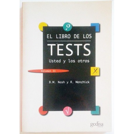 EL LIBRO DE LOS TESTS. 2 TOMOS