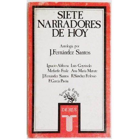 SIETE NARRADORES DE HOY