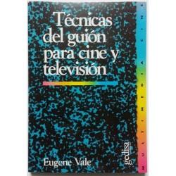 TÉCNICAS DEL GUIÓN PARA CINE Y TELEVISIÓN