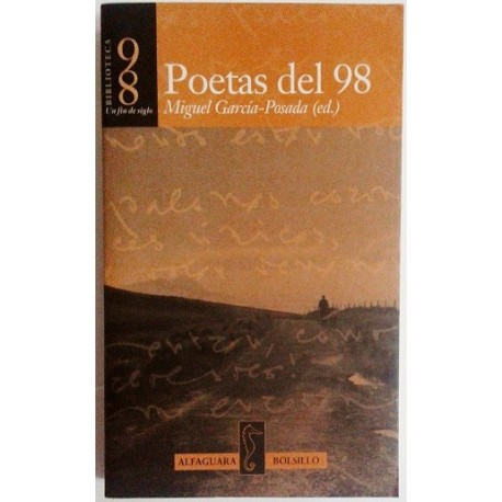 POETAS DEL 98. ANTOLOGÍA