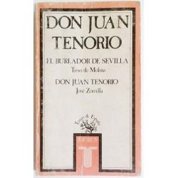 DON JUAN TENORIO. EL BURLADOR DE SEVILLA