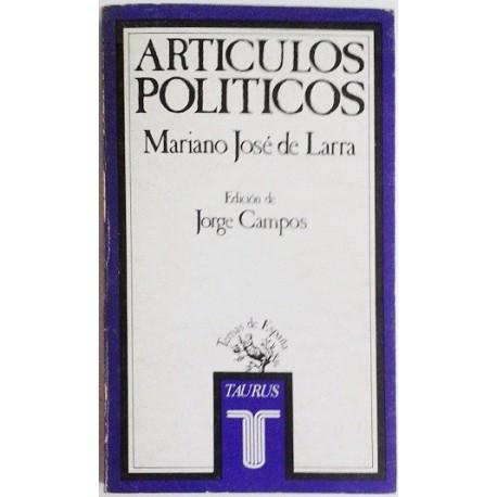 ARTÍCULOS POLÍTICOS