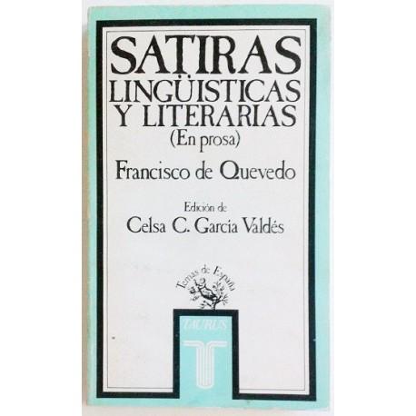 SATIRAS LINGÜISTICAS Y LITERARIAS EN PROSA