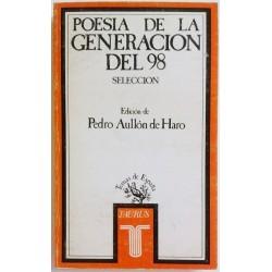 POESÍA DE LA GENERACION DEL 98. SELECCIÓN