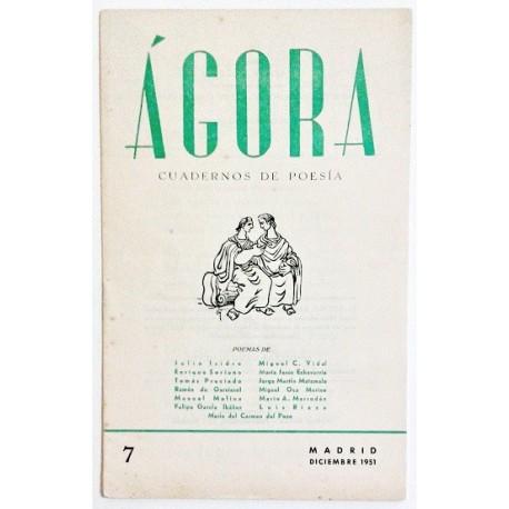 ÁGORA NÚM. 7 DICIEMBRE 1951