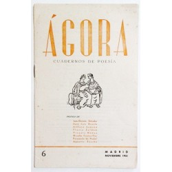 ÁGORA NÚM. 6 NOVIEMBRE 1951