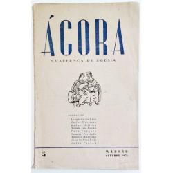 ÁGORA NÚM. 5 OCTUBRE 1951