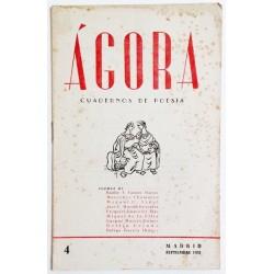ÁGORA NÚM. 4 SEPTIEMBRE 1951