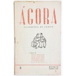 ÁGORA NÚM. 3 AGOSTO 1951