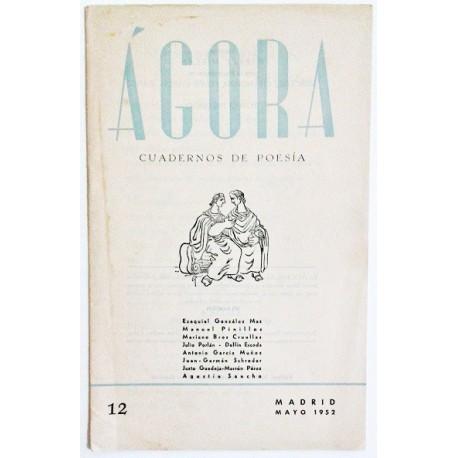 ÁGORA NÚM. 12 MAYO 1952