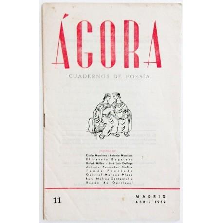 ÁGORA NÚM. 11 ABRIL 1952