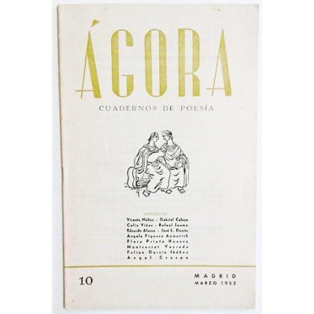 ÁGORA NÚM. 10 MARZO 1952
