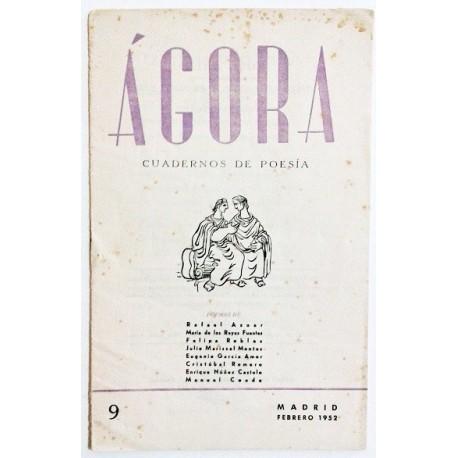 ÁGORA NÚM. 9 FEBRERO 1952