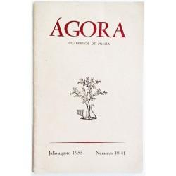 ÁGORA NÚM. 40-41 JULIO-AGOSTO 1955