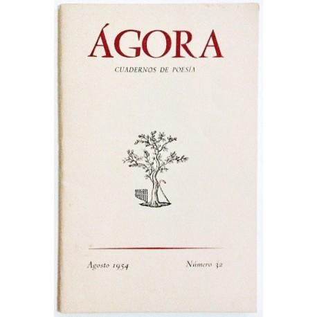 ÁGORA NÚM. 32 AGOSTO 1954