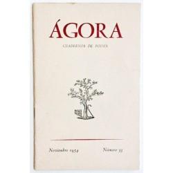 ÁGORA NÚM. 33 NOVIEMBRE 1954