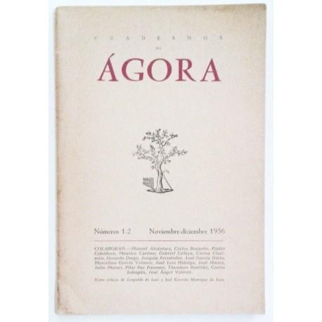ÁGORA NÚM. 1-2 NOVIEMBRE-DICIEMBRE 1956