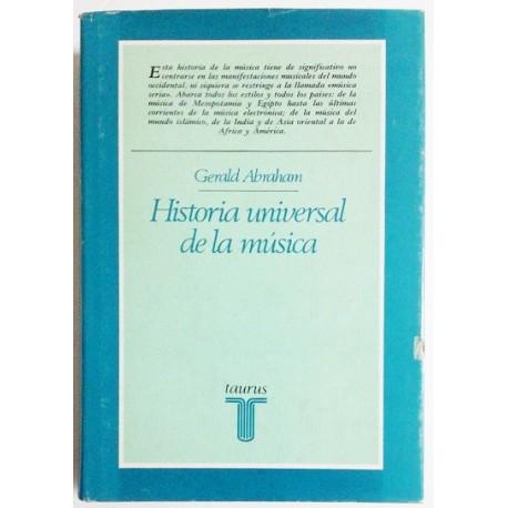 HISTORIA UNIVERSAL DE LA MÚSICA