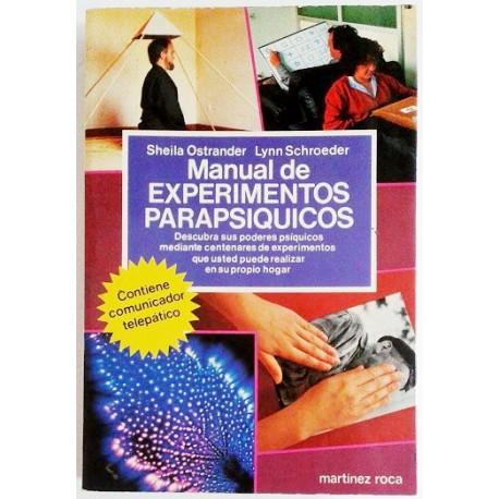 MANUAL DE EXPERIMENTOS PARAPSICOLOGICOS